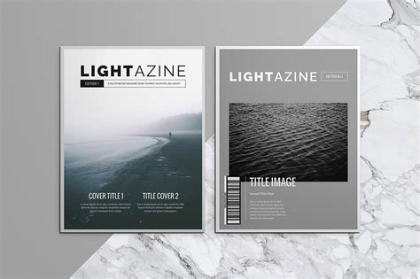 15 Indesign Magazine Brochure Templates Daily Ui Design Inspiration Patterns Ui Garage Magazine Brochure Template