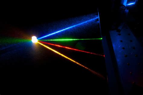 blue and white laser lights high quality white light produced by four color laser source