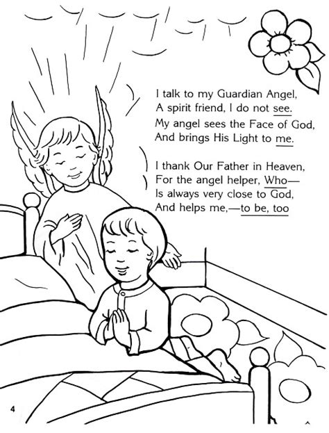 coloring pages of guardian angels guardian angel coloring page angels pinterest
