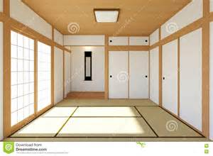 Tatami Mat Living Room Empty Japanese Living Room Interior In Traditional And