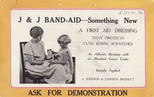 1923 band aid 174 brand adhesive bandages ad from our archives