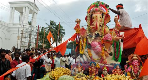 Decorated Homes For Christmas Festival Trips Ganesh Chaturthi Lonely Planet India