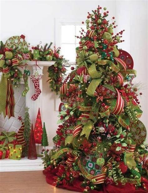how to decorate for christmas how to decorate christmas tree with mesh letter of
