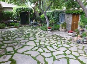 Flagstone Patio Design by Stone And Grass Patio Icamblog
