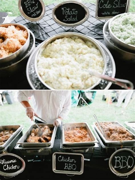 top 25 rustic barbecue bbq wedding ideas barbecues