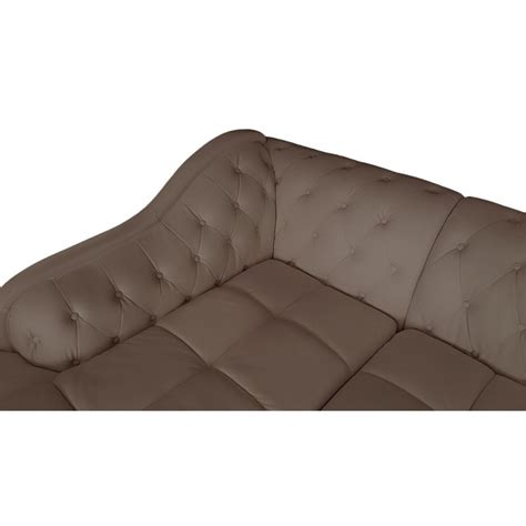 canape cuir taupe angle canap 233 d angle 5 places cuir simili taupe gauche pas cher