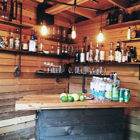 50 pub shed bar ideas for cool backyard retreat designs