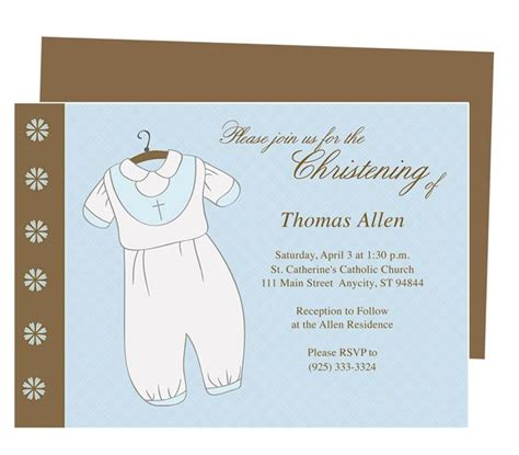 baby baptism invitations templates baptism dress baby baptism invitation templates