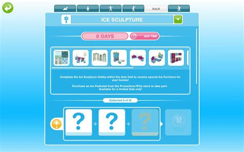 ice sculpture event  sims freeplay pinguintech