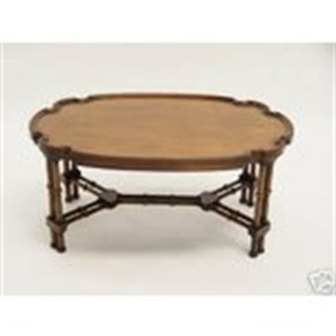 Brandt Coffee Table Brandt Regency Coffee Table Faux Bamboo