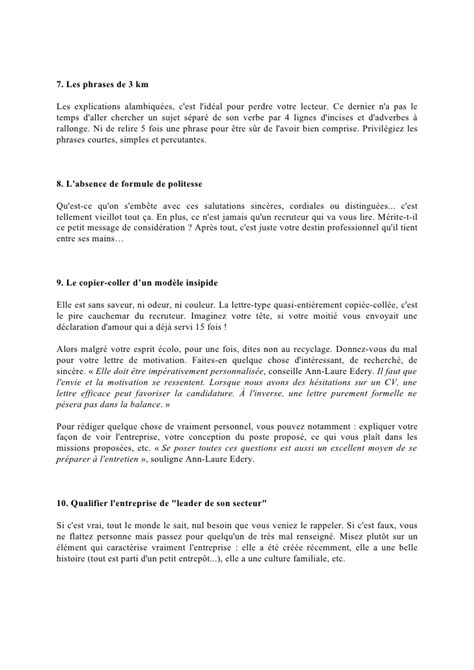 Demande Lettre Formelle exemple lettre de motivation formelle 28 images la