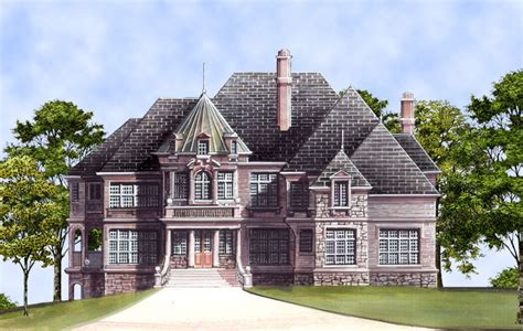 castle home plans kildare castle 5997 5 bedrooms and 4 5 baths the house