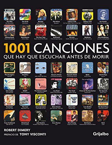 lista 1001 libros que hay que leer antes de morir leer libro 1001 canciones que hay que escuchar antes de
