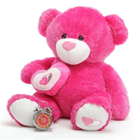 light pink teddy bear chacha big love 42 quot pink valentine teddy bear giant