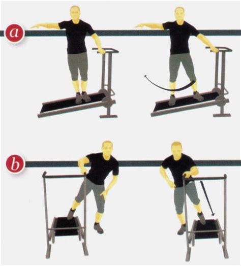 esercizi con i pesi a casa camminata in salita sul tapis roulant meccanico a casa ed