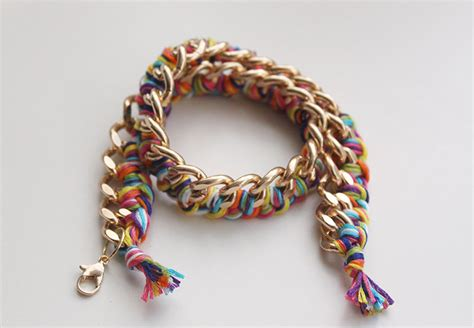 how to make chain jewelry diy manual diy woven chain bracelet page 1 wattpad