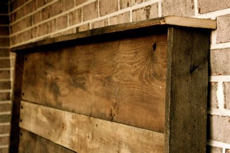 barn siding headboard upcycled barn wood headboard a well barn wood headboard