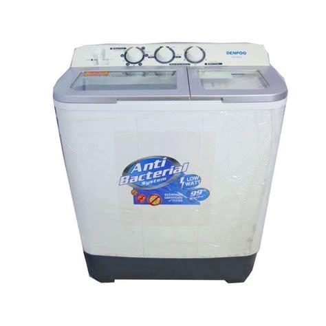 Mesin Cuci Denpoo Dw 8901 jual mesin cuci denpoo dw8303 harga murah jakarta oleh