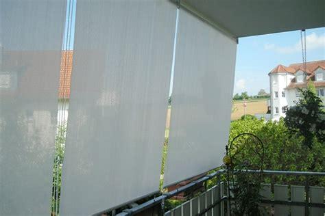 vorhang balkon balkon ohne bohren sichtschutz ohne bohren