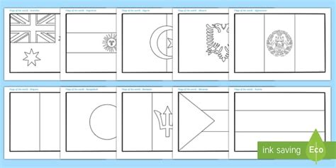 flags of the world twinkl flags of the world colouring sheets flag country countries