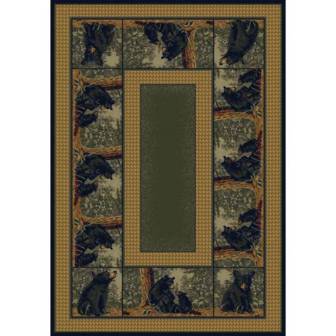 united weavers rugs united weavers 174 hautman family rug 1 11 quot x7 4 quot 145043 rugs at sportsman s guide