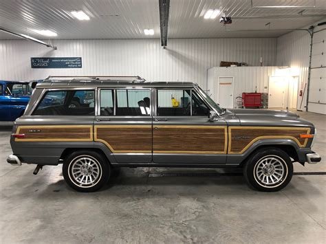 1989 jeep grand wagoneer 1989 jeep grand wagoneer for sale 74177 mcg