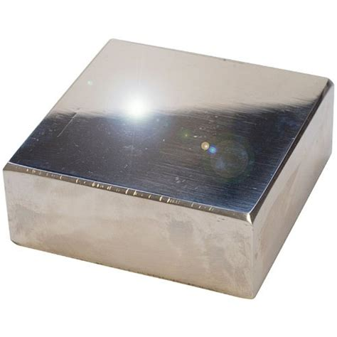 bench block for jewelry 2 inch polished steel bench block