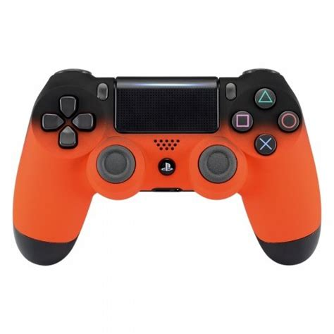 Ps4 Dualshock 4 Wireless Controller New Model ps4 dualshock playstation 4 wireless controller custom soft touch fade new model orange wantitall