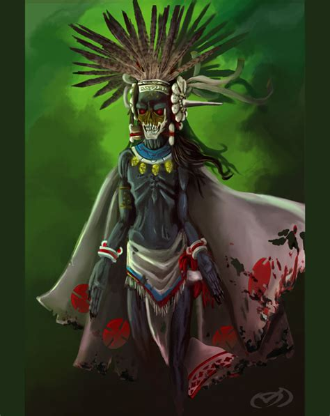 aztec mythology reexamined the gods the lone in a