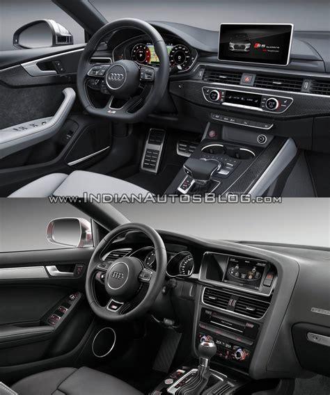 2012 audi s5 interior 2017 audi s5 sportback vs 2012 audi s5 sportback interior