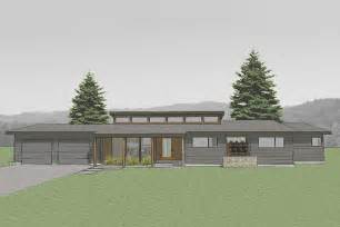 modernist house plans modern style house plan 3 beds 2 baths 1986 sq ft plan