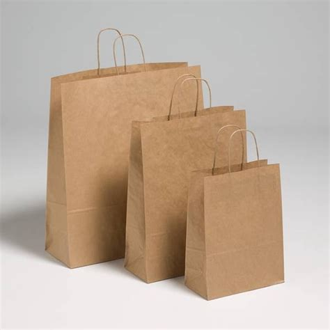 Brown Craft Paper Bags - brown kraft paper carriers brown paper bags jj o toole ltd