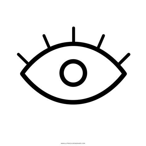 imagenes para colorear ojos olho desenho para colorir ultra coloring pages
