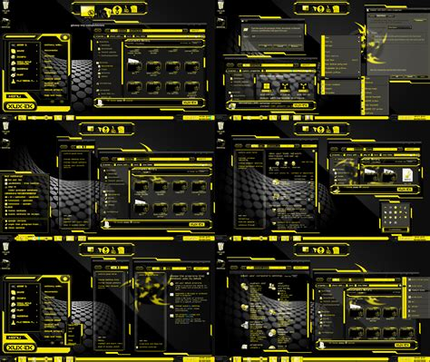 goldfish themes for windows 7 new windows 7 theme yellow xux ek by tono3022 on deviantart