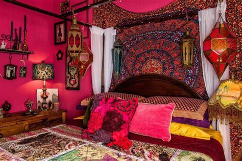 bohemian style bedroom ideas 20 bohemian bedroom designs decorating ideas design