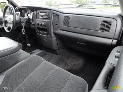 slate gray interior 2002 dodge ram 1500 slt cab