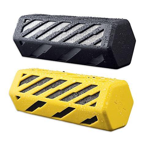 rugged wireless speaker beatz rock on rugged wireless speaker bed bath beyond