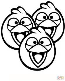 angry birds blue bird coloring page coloring page pedia