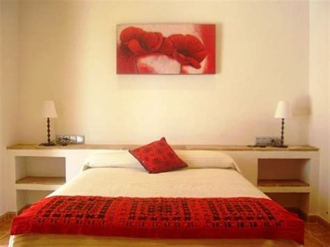 bright red bedroom bring vibrancy into interior design with red color
