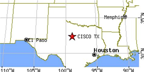 cisco texas map cisco texas tx population data races housing economy