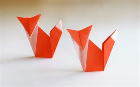 Orange Craft Paper - 25 best ideas about origami animals on