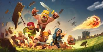 Clash of clans hd wallpapers5 pictures to pin on pinterest