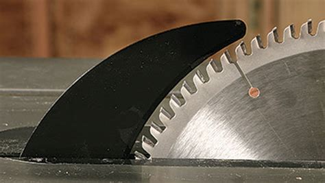 fight kickback   riving knife finewoodworking