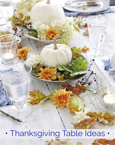 ideas table decorations thanksgiving dinner thanksgiving table settings diy ideas for your
