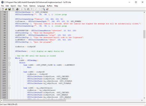 Auto It by Autoit Script Editor Autoit