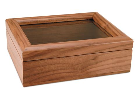walnut 8x10 box picture frame cb2 solid walnut glass top display box