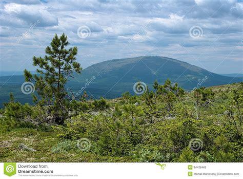 Third Mount view from third bugor mount on kosvinsky rock mount