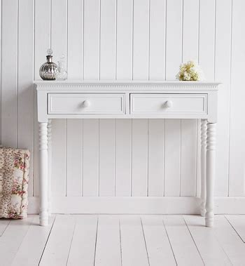 White Hallway Console Table New White Console Table With Knob Handles For Furniture