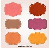 Etiquetas Adhesivas De Colores  Descargar Vectores Gratis
