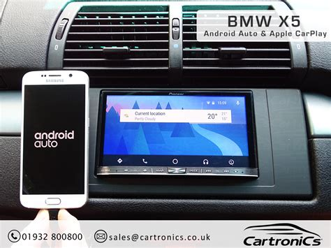 Apple X5 bmw x5 radio nav din upgrade with apple carplay android auto